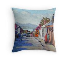 Battery Point, Hobart,Tasmainia Throw Pillow