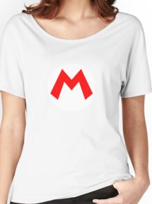 Super Mario Mario Icon Women's Relaxed Fit T-Shirt