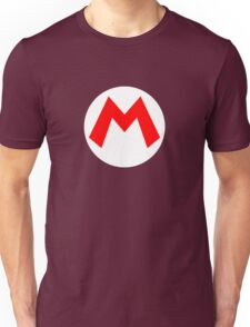 Super Mario Mario Icon Unisex T-Shirt
