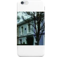 Portabello Road (George Orwell's House) - London iPhone Case/Skin