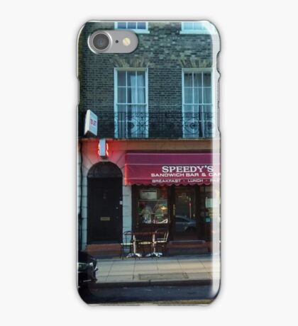 Speedy's Sandwich Bar  iPhone Case/Skin
