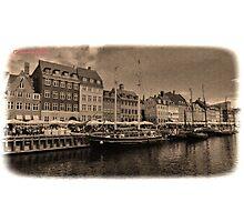 Copenhagen - Nyhavn Photographic Print