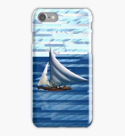 A delightful sail on the waves of the Internet iPhone Case/Skin