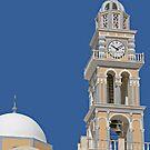 Bell Tower on Santorini by imagic