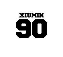 Xiumin EXO 90 Football Design EXO-M by impalecki