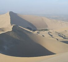 Curving sand dunes by davidleahy