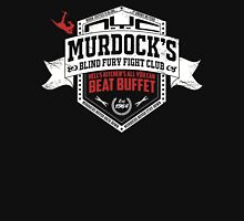 Murdock's Blind Fury Fight Club - Dist Red/White V03 Unisex T-Shirt