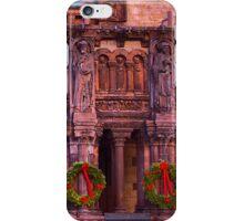Christmas at Trinity Church  of Boston  iPhone Case/Skin