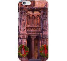 Christmas at Trinity Church  of Boston  iPhone Case/Skin