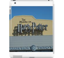 The Making of Harry Potter sign iPad Case/Skin