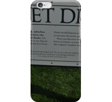 The Privet Drive sign.  iPhone Case/Skin
