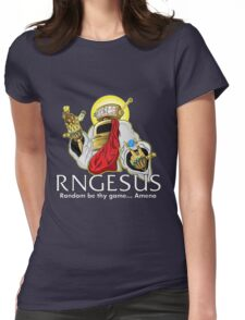RNGesus  Womens Fitted T-Shirt
