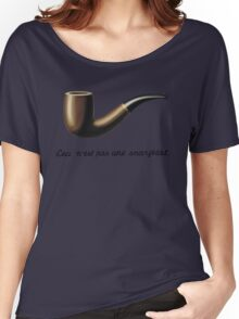 This is not a snarfblat. Women's Relaxed Fit T-Shirt