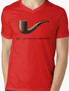 This is not a snarfblat. Mens V-Neck T-Shirt