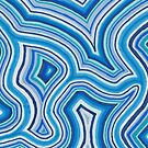 Blue Color Burst by shinyjill