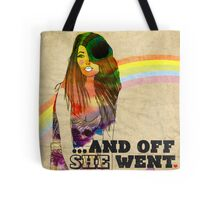 ...and off she went ♥ Tote Bag