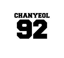 Chanyeol EXO 92 Football Design EXO-K by impalecki