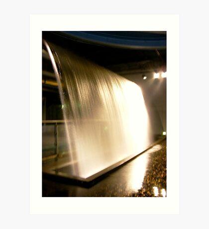 Uisce!! - Guinness Storehouse Waterfall Art Print
