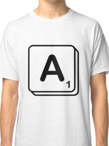 A scrabble print Classic T-Shirt