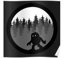 Canadian Everyday - Sasquatch By Night  Logo - Canada Day Poster
