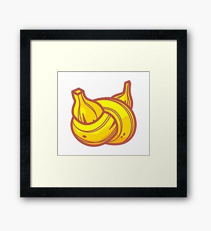 Banana Node Framed Print