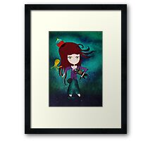 Toy fairycake tender octopus bear doll Framed Print