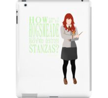 Lily Evans, No Romantic iPad Case/Skin