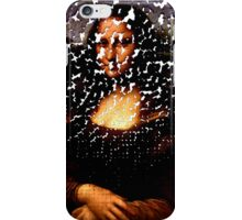 Mona Lisa on the Wall iPhone Case/Skin