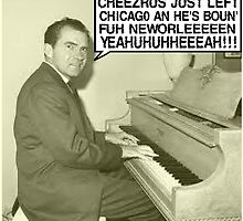 Richard Nixon sings Cheezrus Just Left Chicago by tommytidalwave