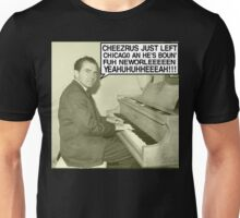 Richard Nixon sings Cheezrus Just Left Chicago Unisex T-Shirt