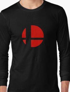 Super Smash Bros Icon Long Sleeve T-Shirt