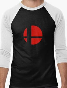 Super Smash Bros Icon Men's Baseball ¾ T-Shirt