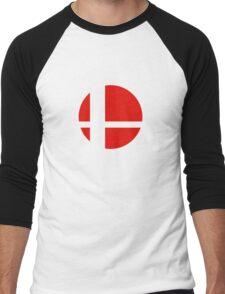 Super Smash Bros Icon Men's Baseball ¾ T-Shirt