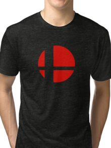 Super Smash Bros Icon Tri-blend T-Shirt