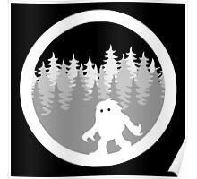 Canadian Everyday - Yeti Forest Logo - Canada Day Poster