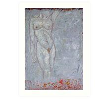 Flame Goddess Art Print