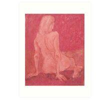 Goddess of Dusk Art Print