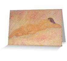 Goddess of Dreams Greeting Card