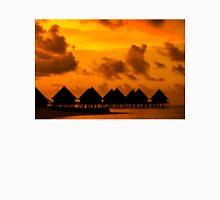 Golden Sunset in the Maldives Unisex T-Shirt