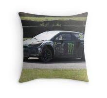 Liam Doran - Citroen DS3 WRC Throw Pillow