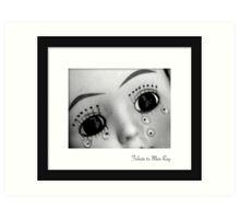 March - Man Ray Art Print