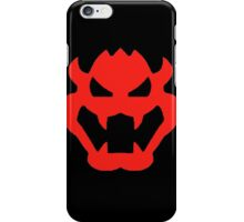 Super Mario Bowser Icon iPhone Case/Skin