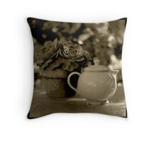 Tea Pot Throw Pillow