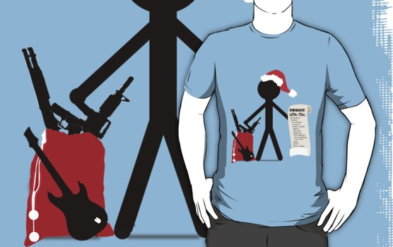 A Merry Stickman Xmas by creativenergy
