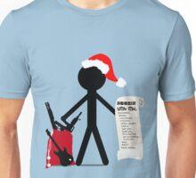 A Merry Stickman Xmas Unisex T-Shirt