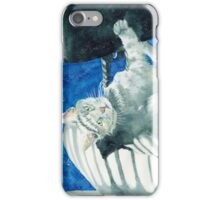 Office Cat iPhone Case/Skin