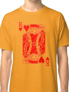 KING OF HEARTS-RED Classic T-Shirt