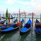 Giudecca Canal - Venice, Italy by Filip Mihail