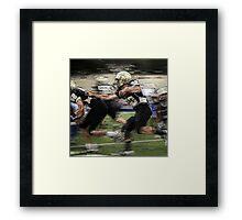 Extreme Football Framed Print