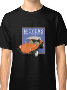 Dune Buggy Manx Orange Blue Box Classic T-Shirt
